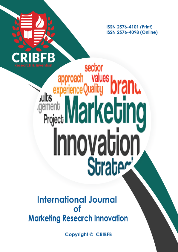 International Journal Of Marketing Research Innovation